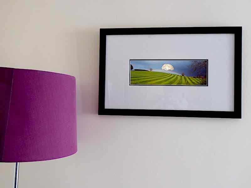 photo and lampshade sheltered accommodation