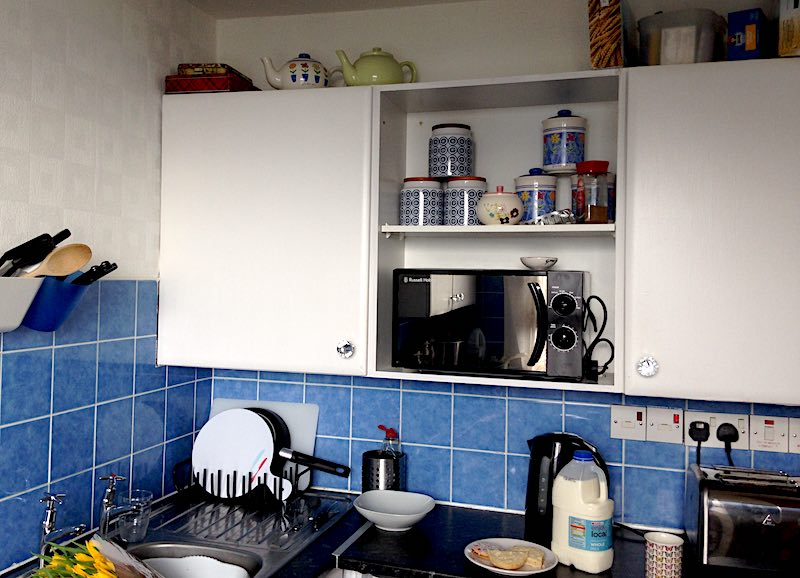 kitchen in high-rise block