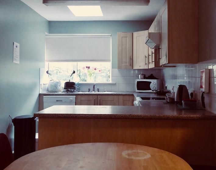 kitchen in centre