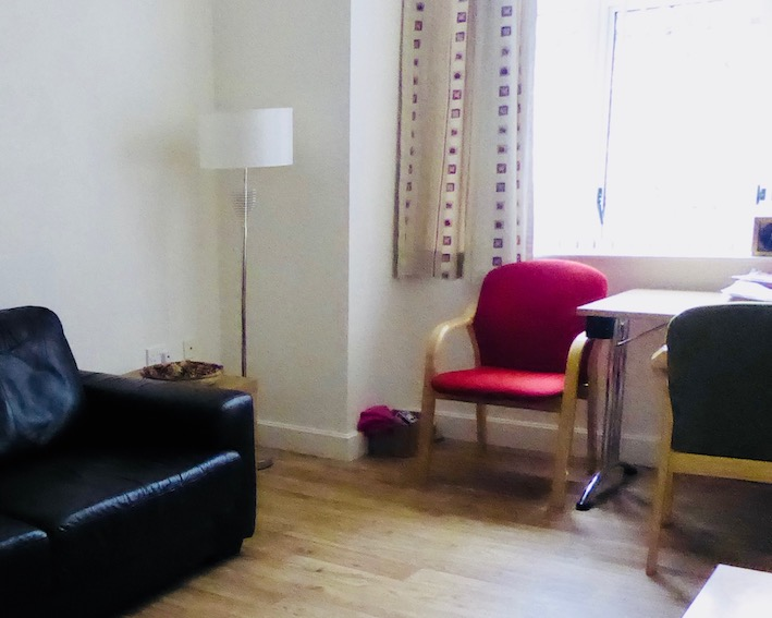 counselling room with window