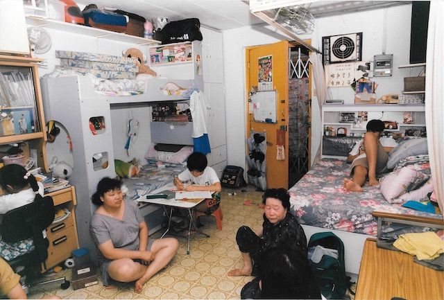 3 children 2 adults in HK home
