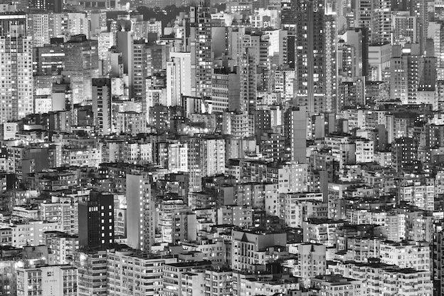 Hong Kong density buildings