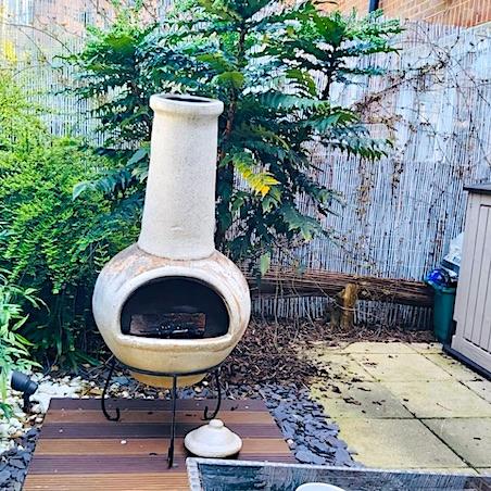 garden log burner
