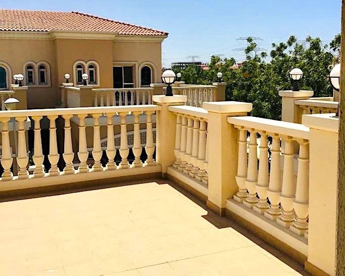 terrace, Dubai