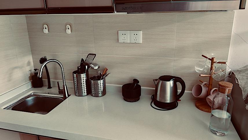 kitchen in Shenzhen apartment