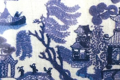 mum's willow pattern