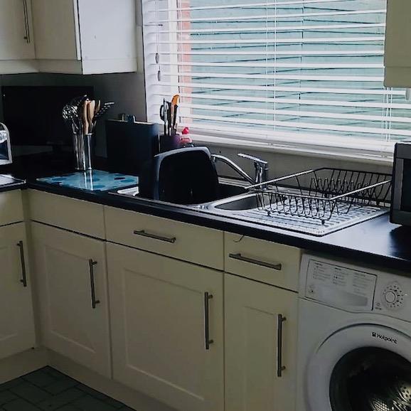 my own kitchen sink and window