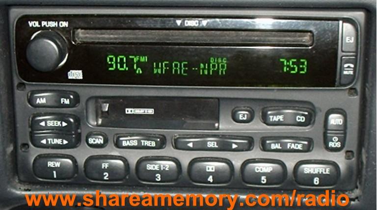 1998 Ford Explorer Xlt Radio Wiring Diagram