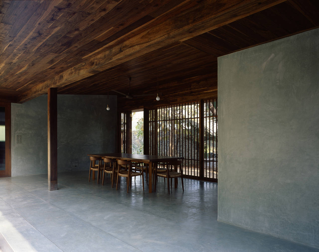 Fall Garden Wallpaper Studio Mumbai Architects Copper House Anyonegirl
