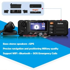 7 Way Navigation Rv Slide Inrico Tm Gps Wifi Gsm Wcdma Network Mobile Radio