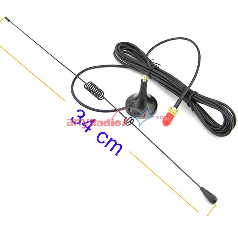 Nagoya UT106 Antenna Magnetic Base SMA-F for HAM Radio