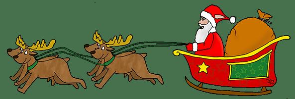 Le traineau de PoZ Noël