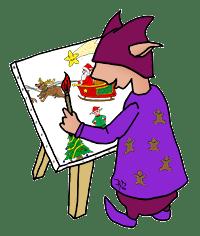 Dessin Guide Je Dessine Noel La Classe Des Gnomes