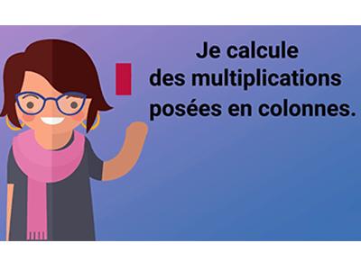 Calculer des multiplications posées