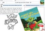 Le petit ogre veut aller à l'école - Fiche 3 lecture/coloriage et puzzle/couverture