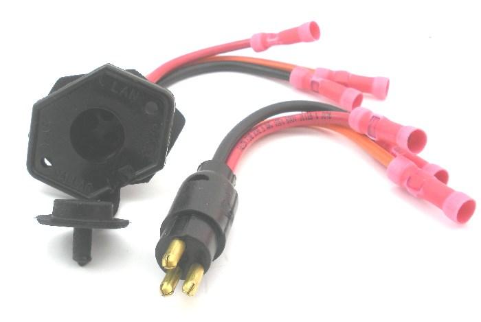 Trolling Motor Receptacle Wiring Diagram