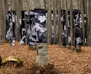 Guernica in the Woods