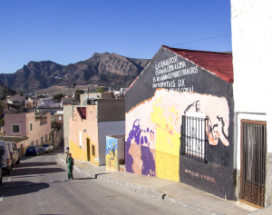 Murals on San Isidro Houses