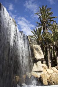 Palmeral Waterfall