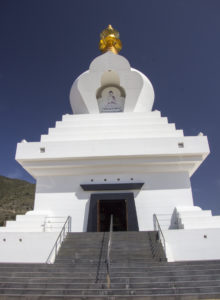 The Enlightenment Stupa of Benalmadena