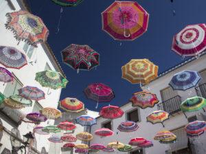 Iznájar umbrellas