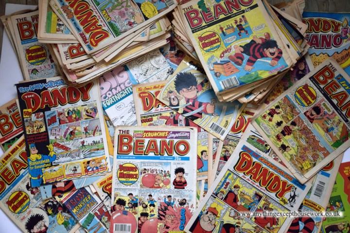 decoupage using comics