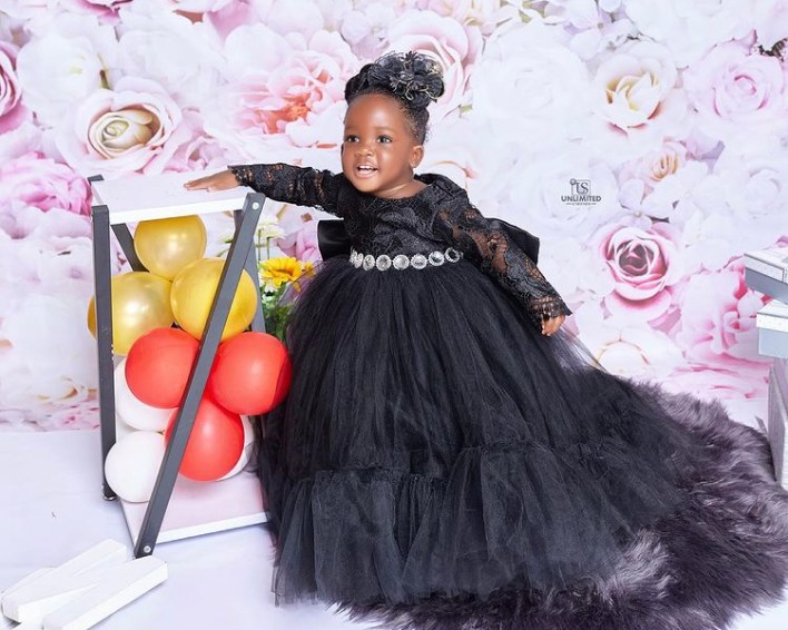 Tracey Boakye And Papa Nu's Daughter Celebrate 1 Year With Stunning Photos 2