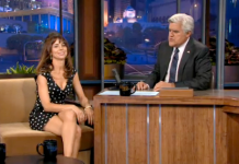Natasha Leggero on NBC's Tonight Show with Jay Leno