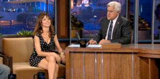 Natasha Leggero on NBC's Tonight Show with Jay Leno