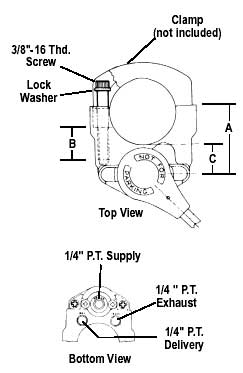 Bendix 276270X TC-2 Trailer Brake Valve: AnythingTruck.com