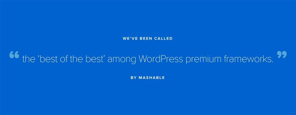 Studiopress Genesis WordPress Theme Mashable Review