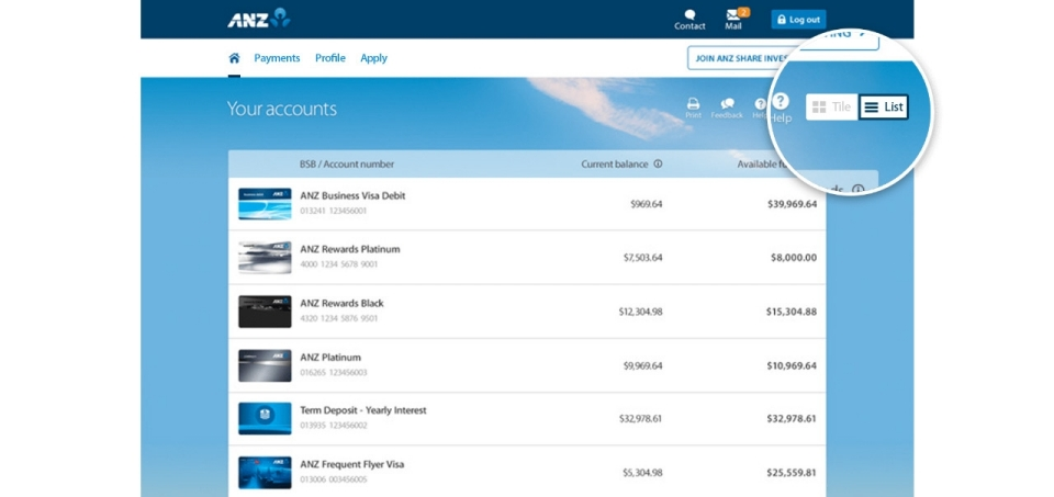 Anz Online Banking Personal