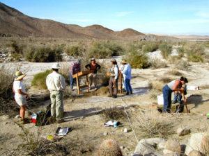 Archaeology field work