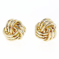 Anzor Jewelry - 14k Yellow Gold Triple Strand Love Knot ...