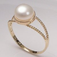 Moti Pearl Stone Rings | Jyotish Pearl Stone Rings | Price ...