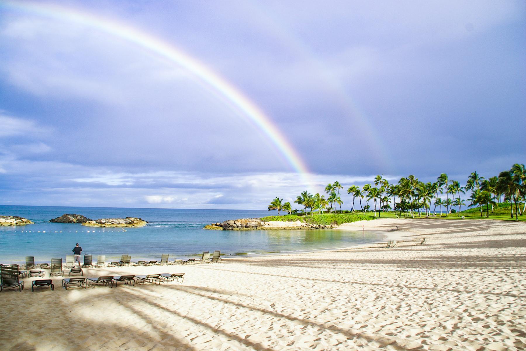ハワイのビーチのイメージ写真