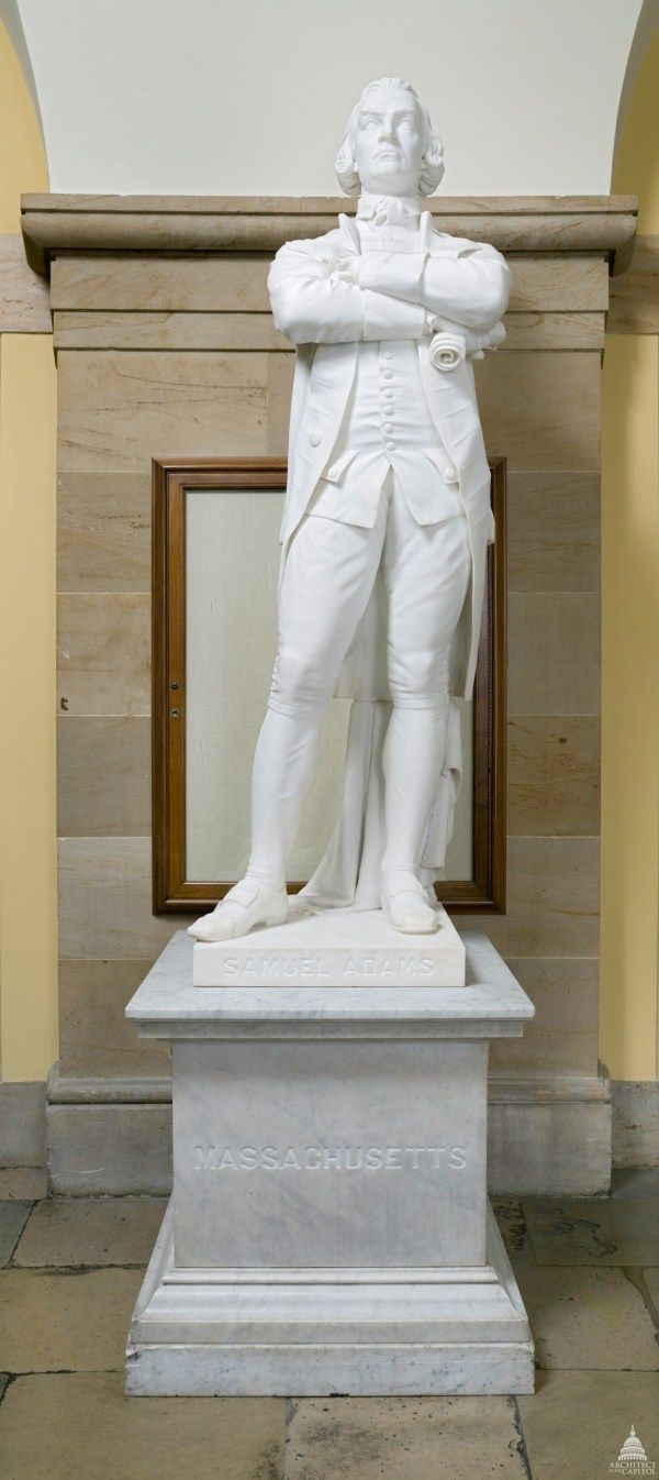 Samuel Adams Architect Of Capitol