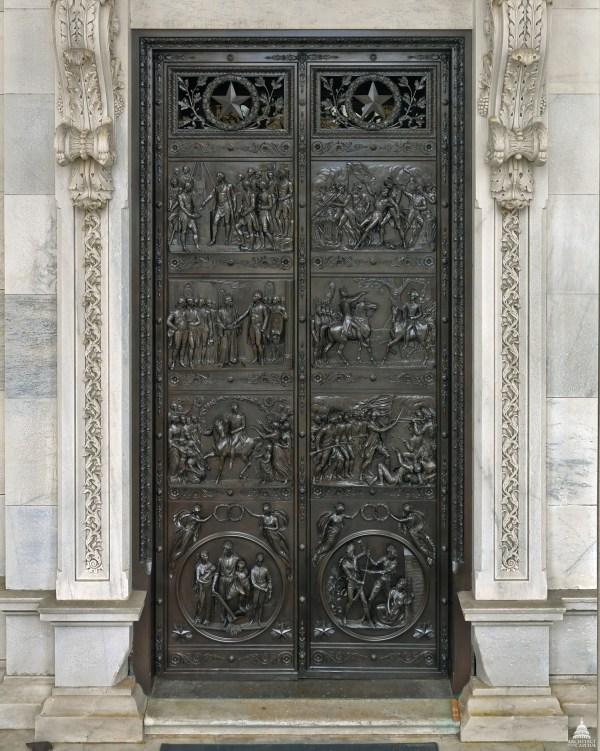 Senate Bronze Doors Architect Of Capitol United