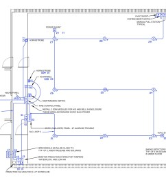 e m inc drawing showing correlator room above floor electrical layout part of e m fm200 0574b03 fa03  [ 2130 x 1736 Pixel ]