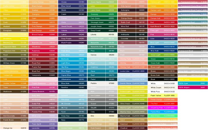 Montana Spray Paint Color Chart Irfandiawhite
