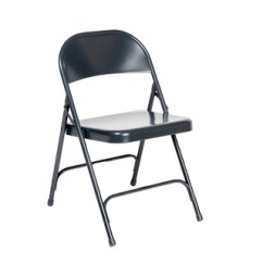 Blue Metal Folding Chairs Woven Outdoor Chair Stacking Rental Arenson Office Furnishings Chr013518