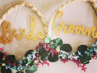 Aoife's Occasions: Bride and Groom hoops