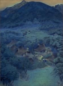 《洛北修学院村》 滋賀県立近代美術館