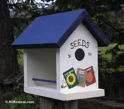 Pdf how to make a simple wooden bird feeder diy free plans for How to make a wooden bird feeder