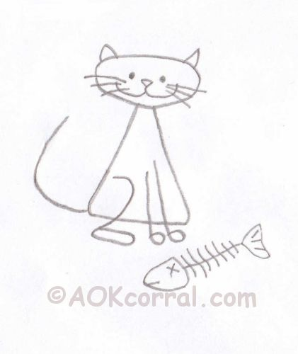 CAT EMBROIDERY FREE PATTERN « EMBROIDERY & ORIGAMI