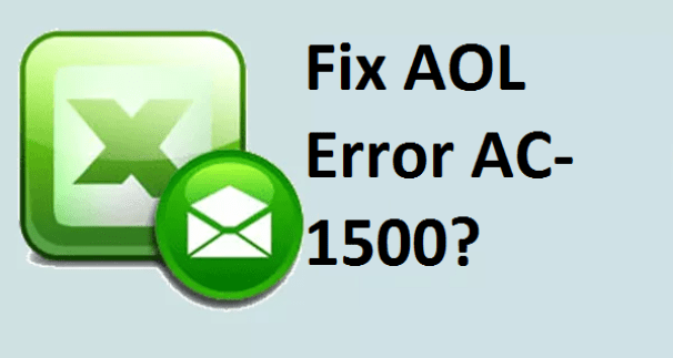 AOL Error AC-1500