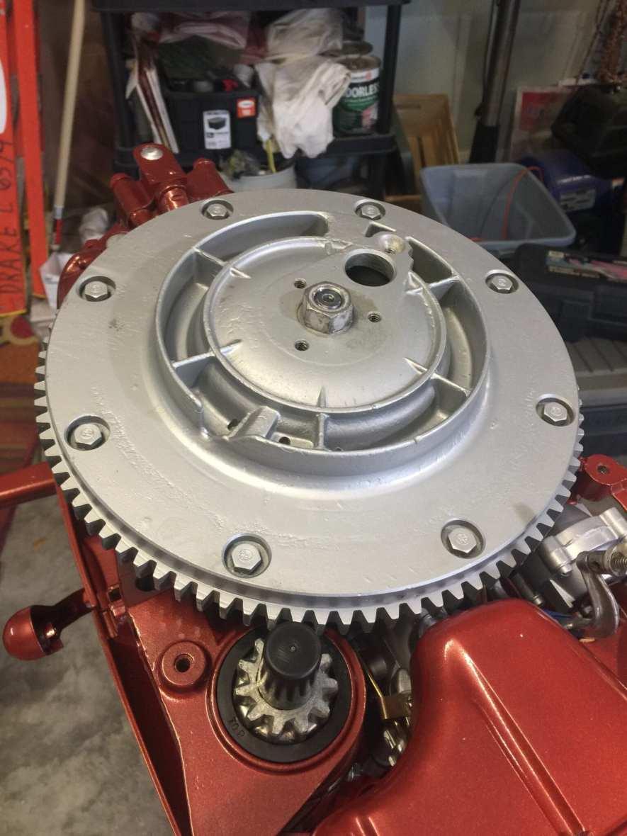 Flywheel-Installed