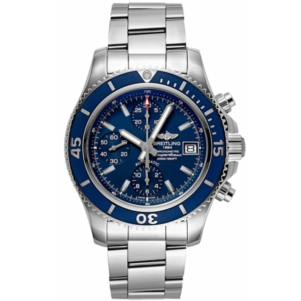 Replica Breitling Superocean 42mm Chronograph Blue Dial A13311D1.C971.161A