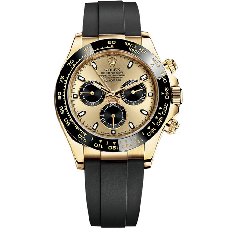 Best Replica Rolex Cosmograph Daytona Yellow Gold Champagne Dial 116518LN