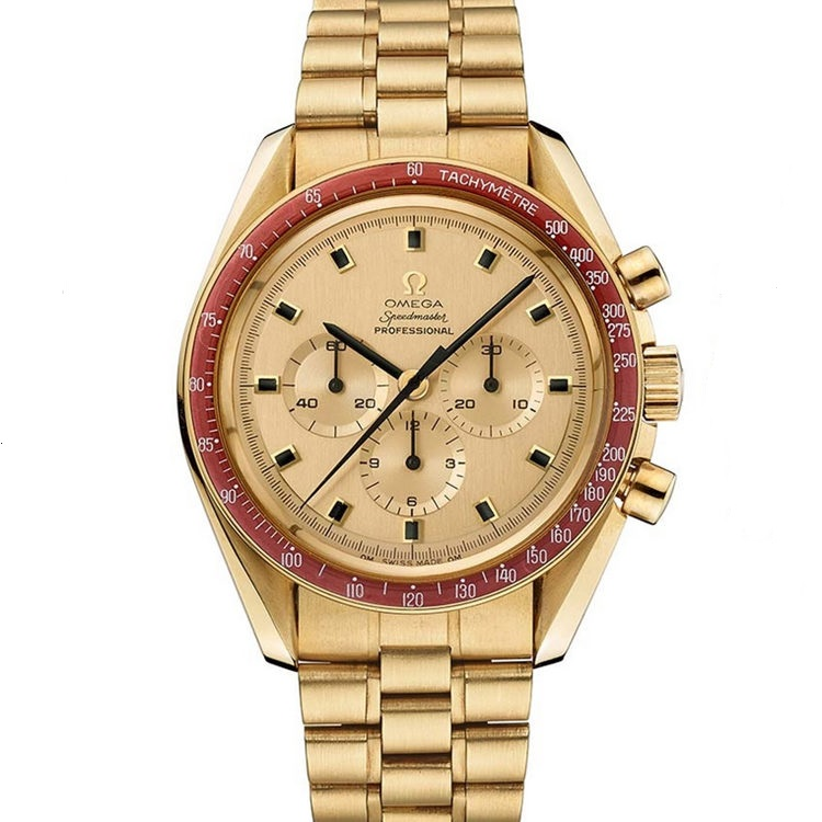 Replica Omega Speedmaster Moonwatch Apollo 11 50 Anniversary Moonshine Gold 310.60.42.50.99.001